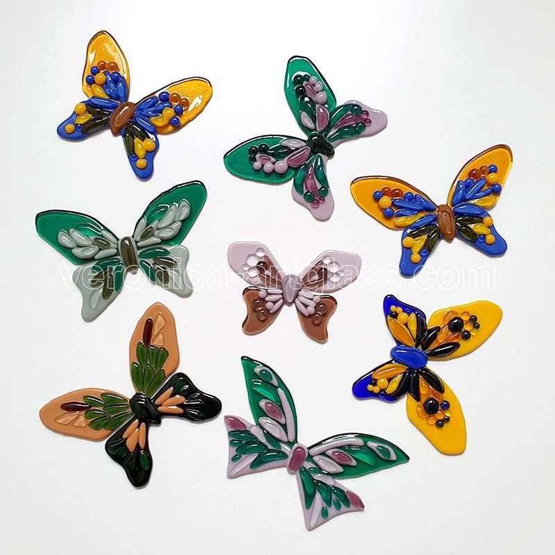 Fused Glass decorative BUTTERFLY
